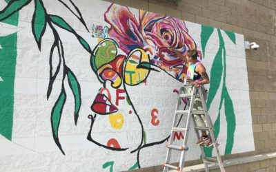 Fishers District Murals: New, weird, and wonderful!