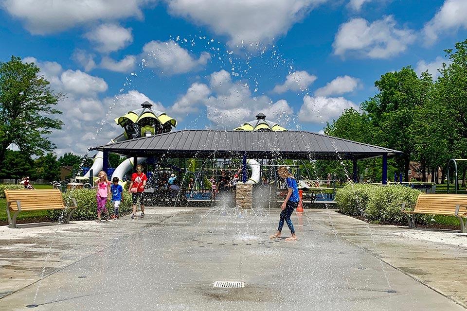 holland park splash pad