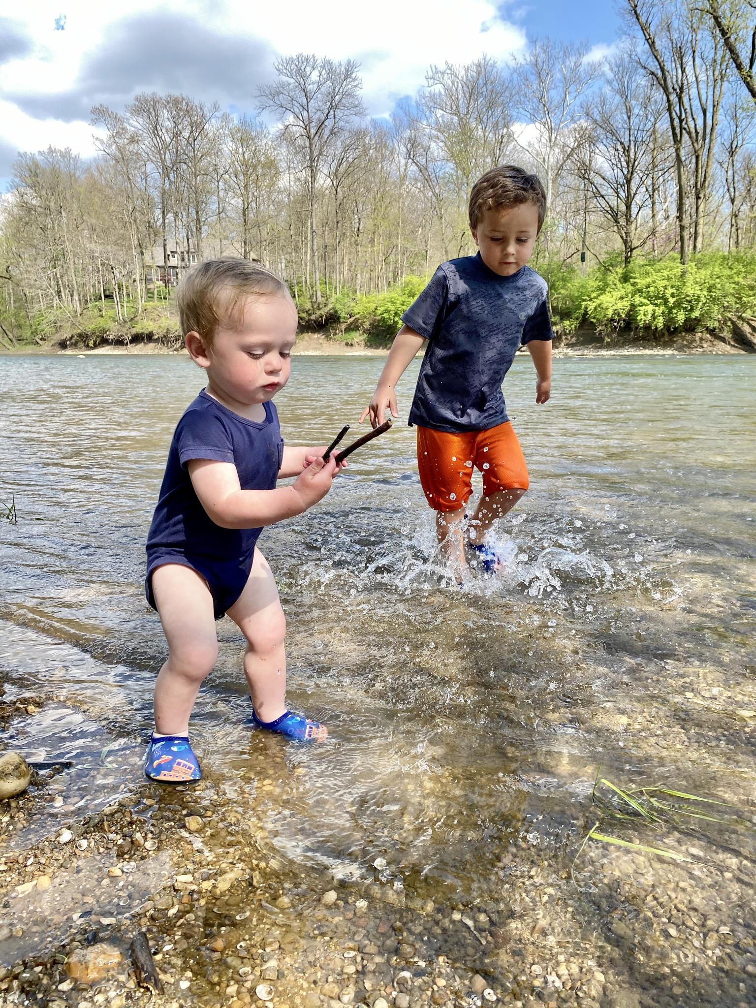 boys creek stomping