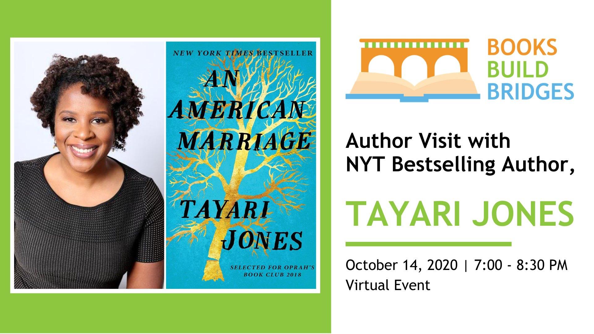 tayari jones author visit