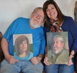 Lesley Haflich and John Reynolds: Capturing a Point in Time the challenge and joy of portraiture