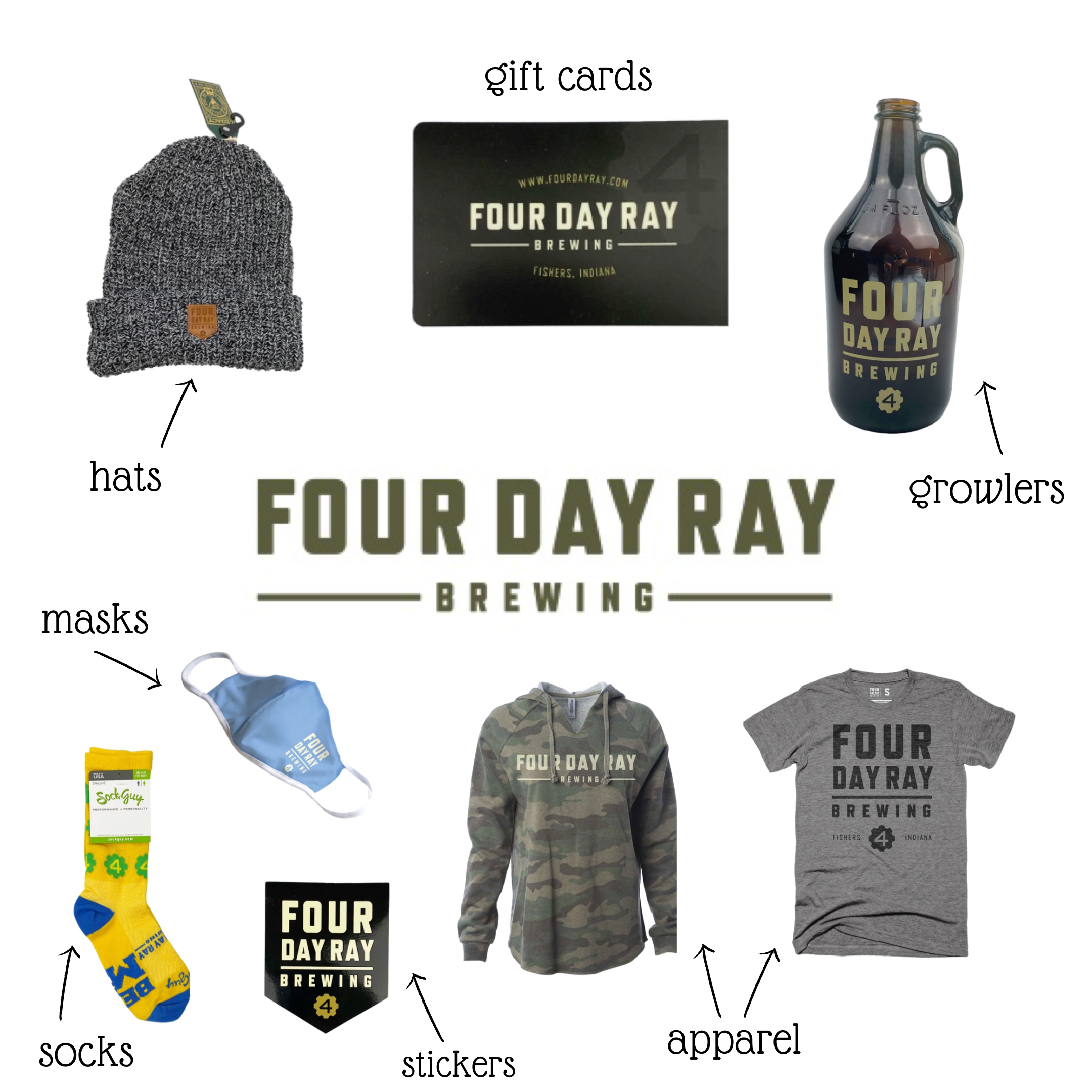 four day ray gifts