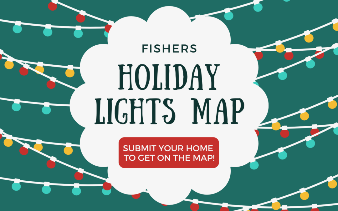 Holiday Lights #AroundFishers