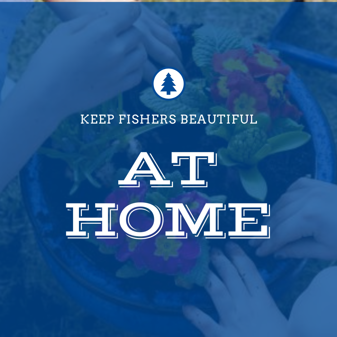 keep fishers beautiful at home