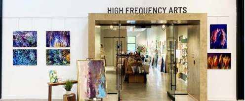 Summer Open House & Artist Reception at Hub & Spoke
