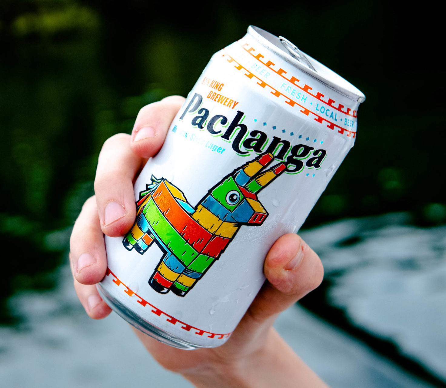 a can of Pachanga from Sun King