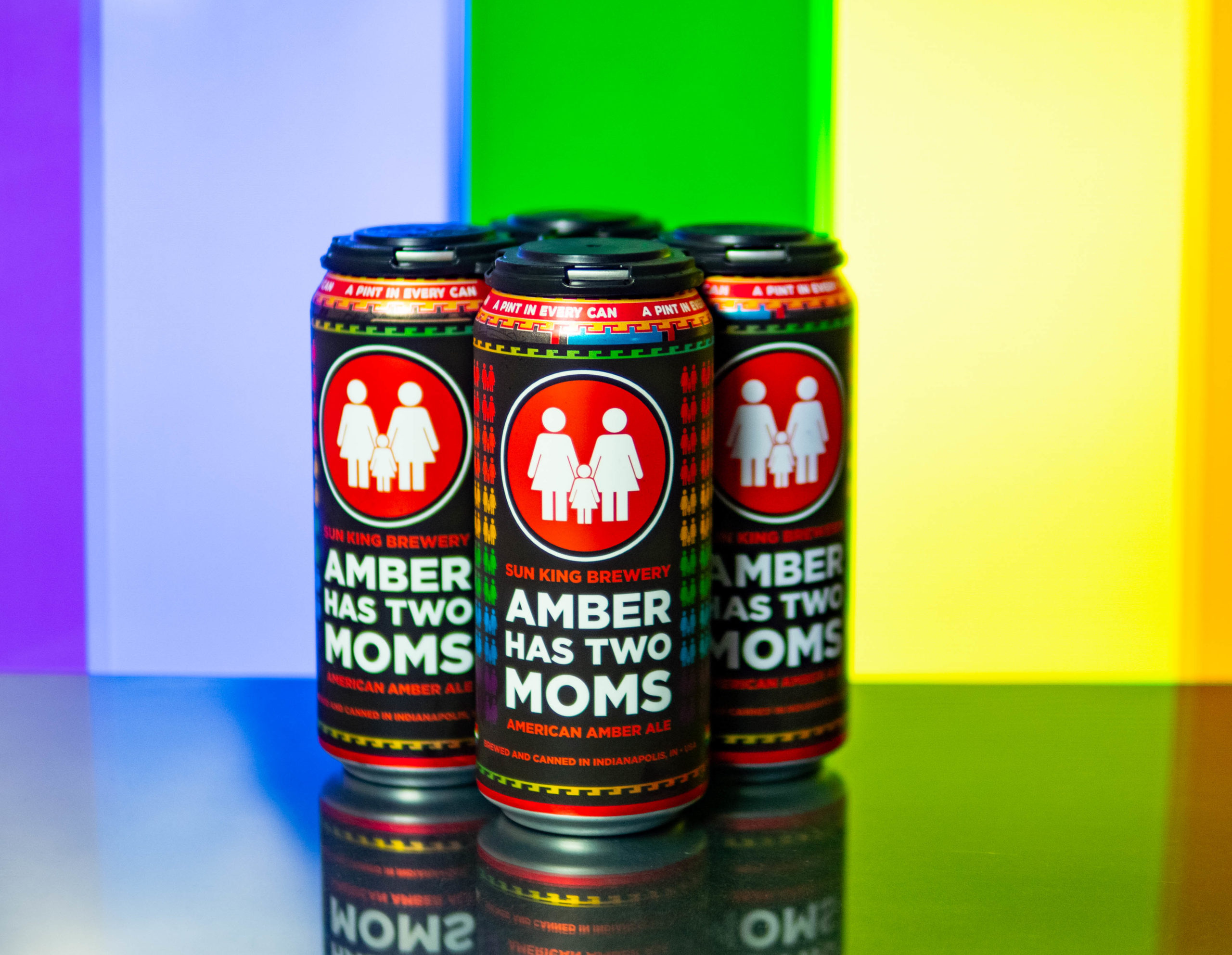 three cans of beer