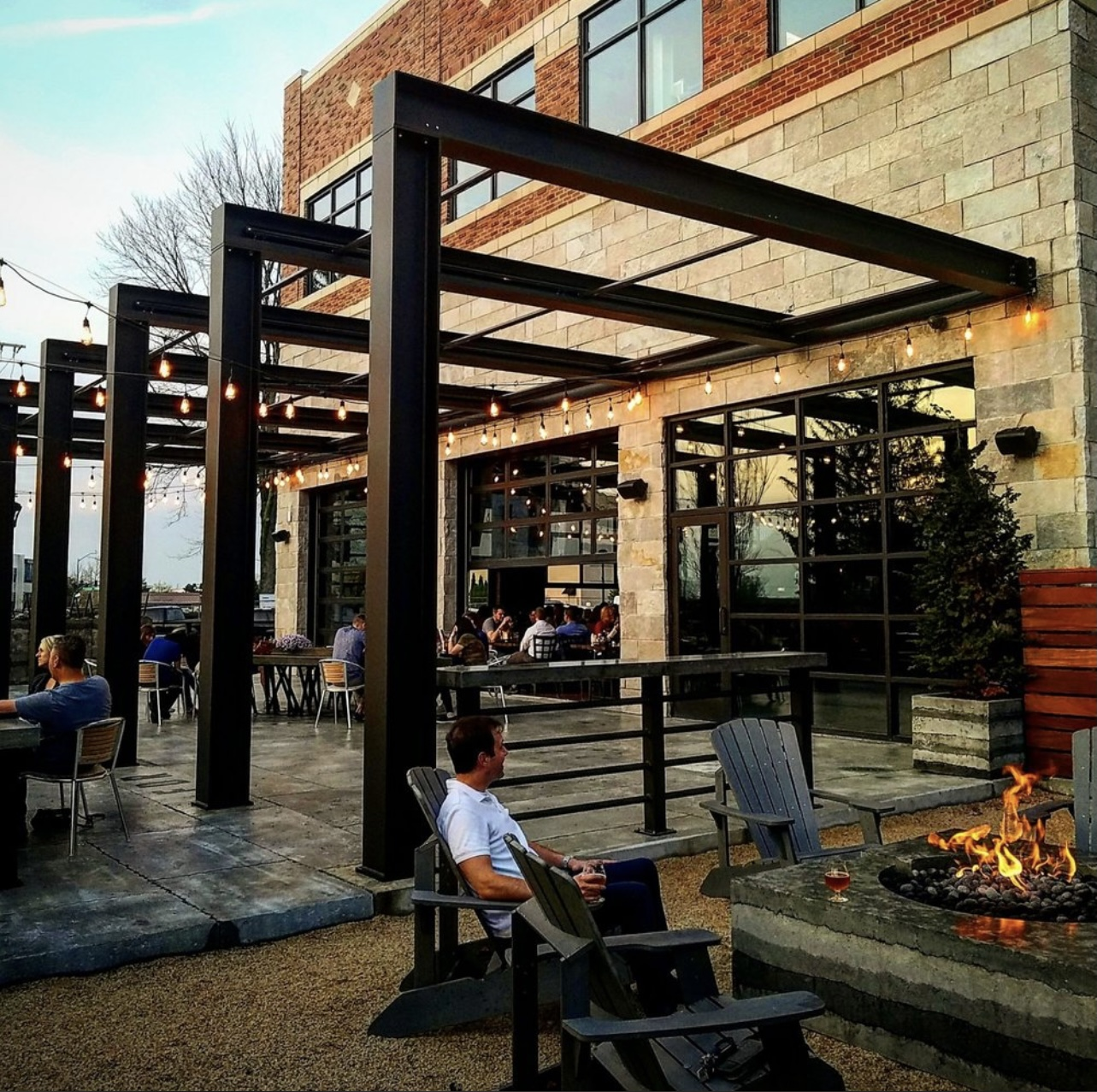 outdoor patio at Four Day Ray