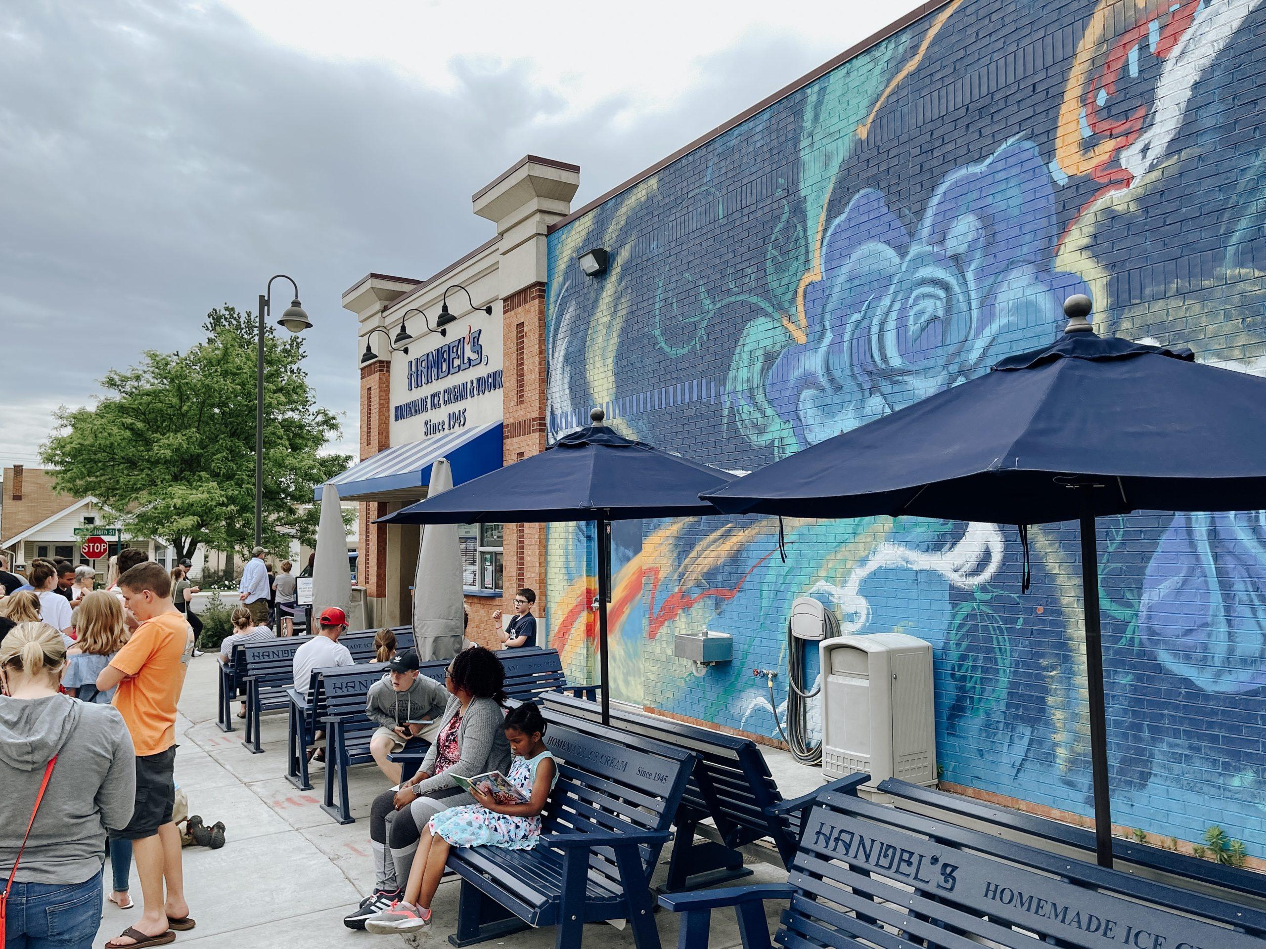 handel's ice cream mural