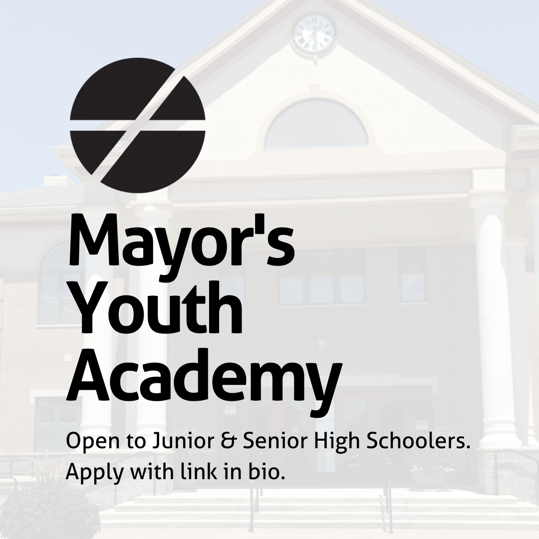 mayors youth academy Open to Junior & Senior High Schoolers. Apply at fishers.in.us/MYA.