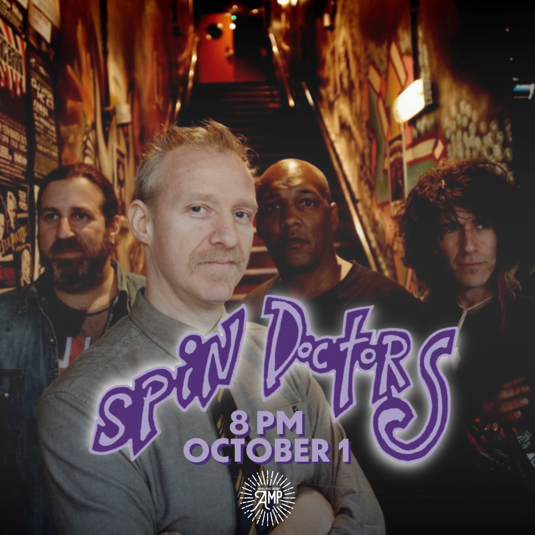 the spin doctors. 8 pm october 1